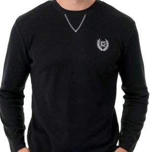 CHAPS crewneck men's sleep shirt